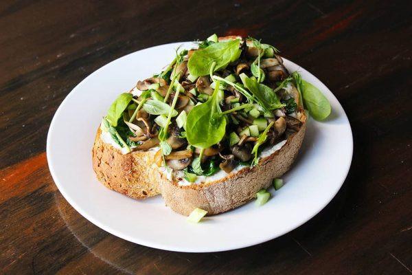 Сендвіч з грибами